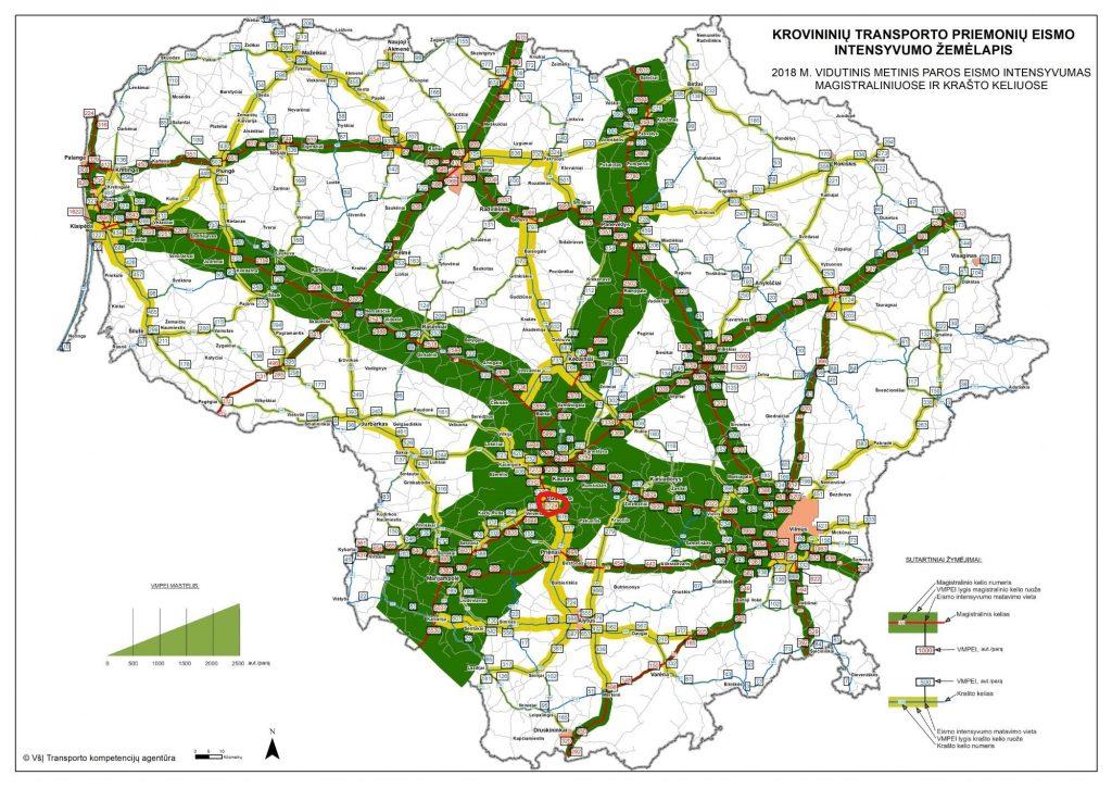 transporto-priemoniu-intensyvumo-zemėlapis-krovininiai-automobiliai_1